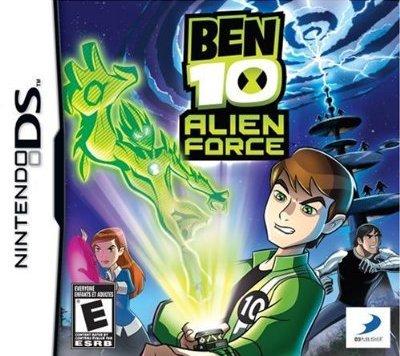 Imagem da caixa de Ben 10: Alien Force The Game para Nintendo DS
