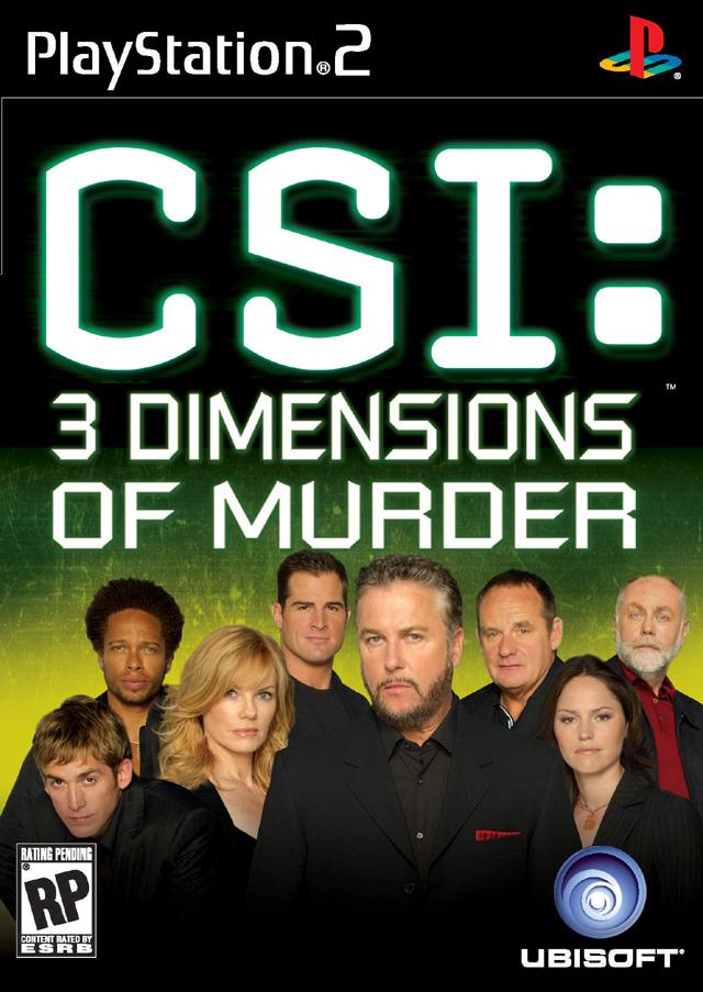 CSI: Dimensions Of Murder ECOFILMES Csi-3-dimensions-of-murder-ps2
