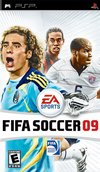 Fifa 09 for PlayStation Portable box image