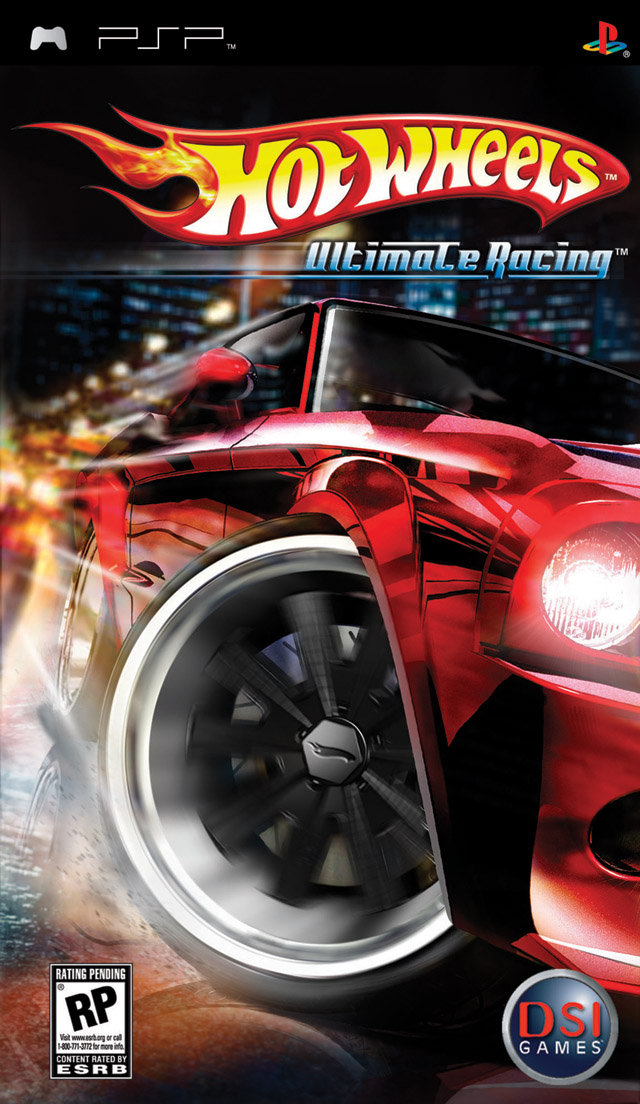Hot Wheels Ultimate Racing [PSP][ESP,ENG]