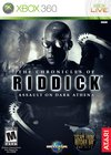 The Chronicles of Riddick: Assault on Dark Athena for Xbox 360 box image