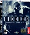 The Chronicles of Riddick: Assault on Dark Athena for PlayStation 3 box image