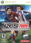Winning Eleven: Pro Evolution Soccer 2009 for Xbox 360 box image
