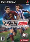 Winning Eleven: Pro Evolution Soccer 2009 for PlayStation 2 box image