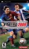 Winning Eleven: Pro Evolution Soccer 2009 for PlayStation Portable box image